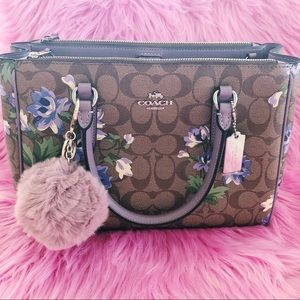 💙NWT Coach Lily Print Surrey Carryall Floral Tote